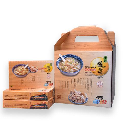 套餐F - 餛飩四盒+豬蹄一份+鹹豬肉+香腸